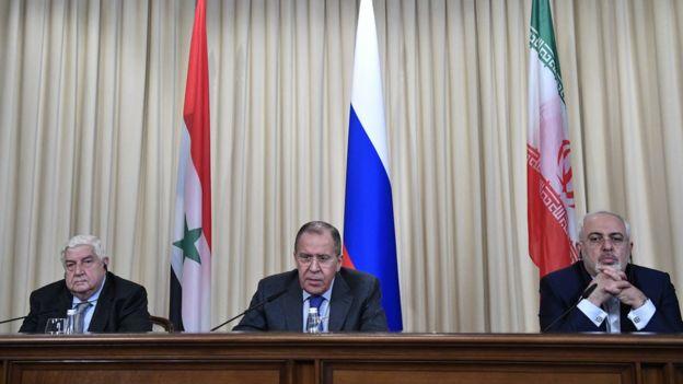 وزیران خارجه سه کشور