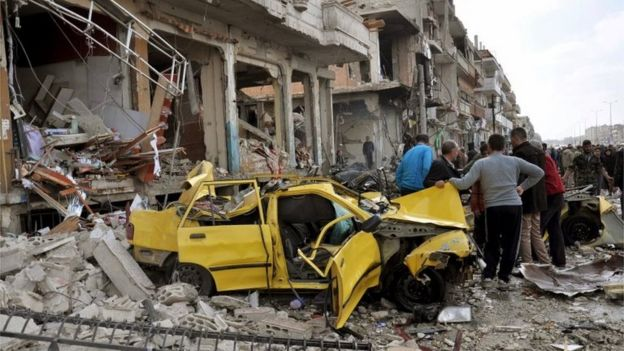 Bağdadi, Suriye'deki kaostan yaralanmak için 2011'de Suriye'deki üyelerine örgütlenme emri verdi.