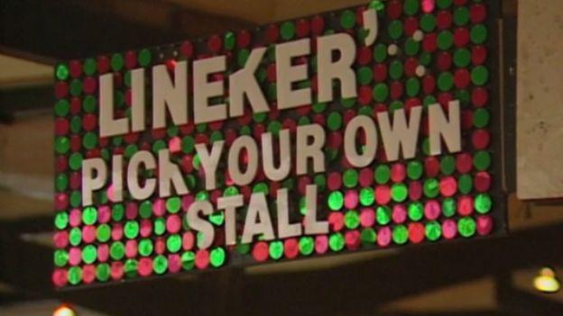 Lineker's sign
