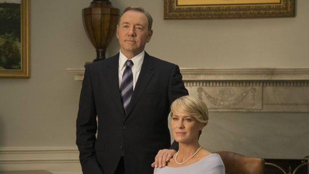 Kevin Spacey y Robin Wright en una escena de la serie House of Cards (Foto: Netflix)