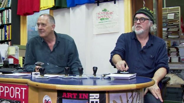Bill Drummond and Jimmy Cauty