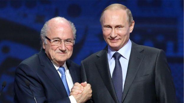 سپ بلاتر: با دعوت پوتین به جام جهانی میروم