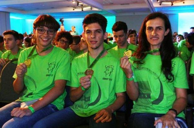Lucy Pereira (dir.) na 11ª edição da Olimpíada Brasileira de Matemática das Escolas Públicas