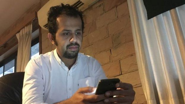 Pakistani journalist Taha Siddiqui