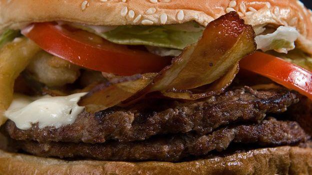 Un hamburguesa