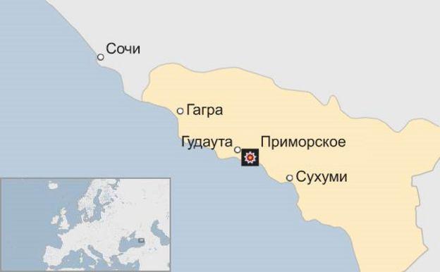 Внаслідок вибуху на складі боєприпасів в Абхазії загинуло дві туристки