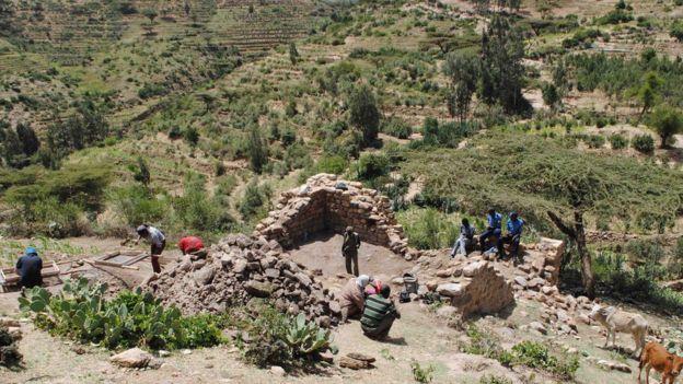 Harlaa 'daki caminin kalıntıları