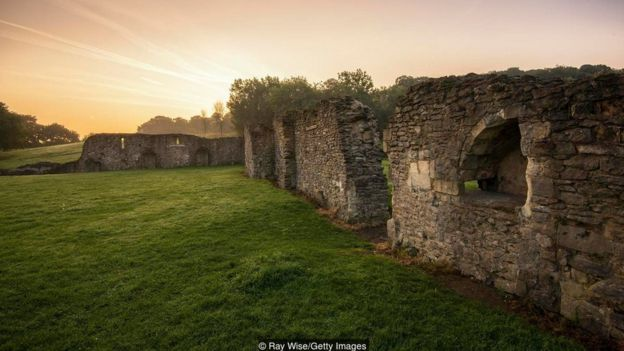 London's Abbey Wood neighbourhood is home to the ruins of the 12th-Century Lesnes Abbey