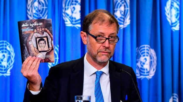 Jan Jarab presenta el informe de ONU-DH