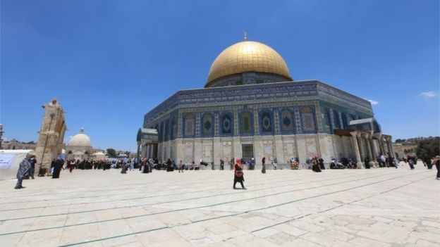 Dome of the Rock on the Temple Mount/Haram al-Sharif (file photo)