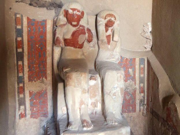В Египте нашли гробницу с тремя мумиями