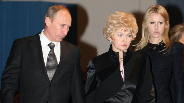 Путин, Нарусова, Собчак