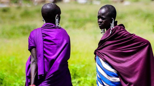 Maasai women in Tanzania