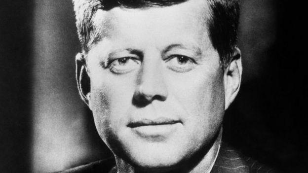 John F Kennedy, picha iliyopigwa 23 Oktoba 1962