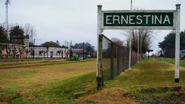 Estacion de tren Ernestina