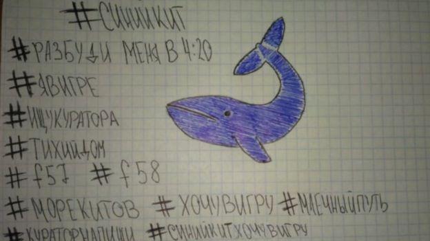 juego de la ballena azul