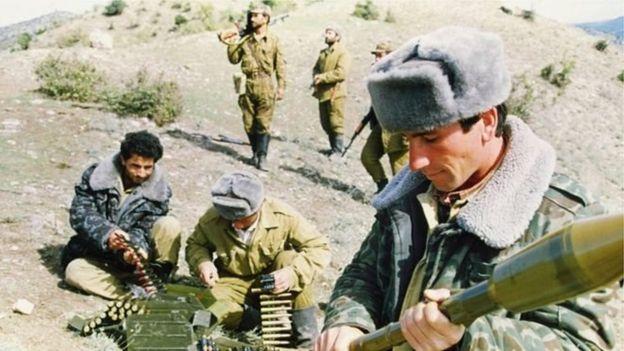 Qarabağda azərbaycanlı əsgərlər (18 oktyabr 1992)