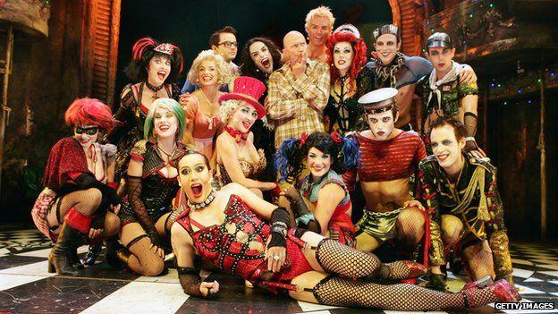The Rocky Horror Show cast Australia 2008