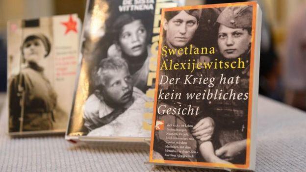 Svetlana Alexievich's books