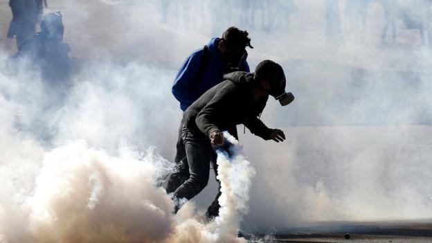 warga Palestina di Tepi Barat