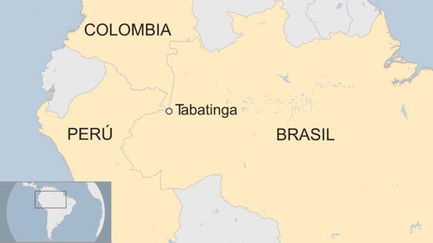 Resultado de imagen de base militar internacional temporal en la frontera amazónica entre Brasil, Perú y Colombia