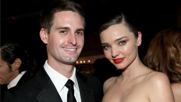 Spiegel y su mujer