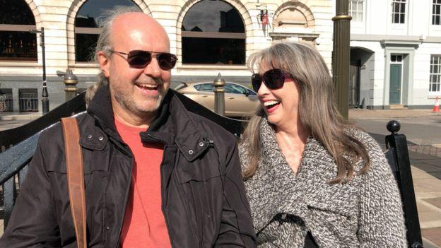 John and Gillie Hemming