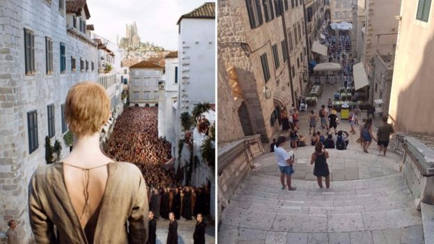 Cena de 'Game of Thrones'/Dubrovnik