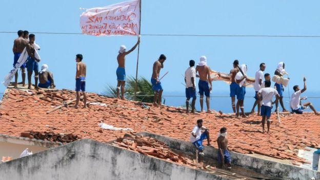 Rebelião em presídio de Alcaçuz, RN