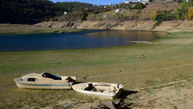 Засуха в Испании, октябрь 2017 года.