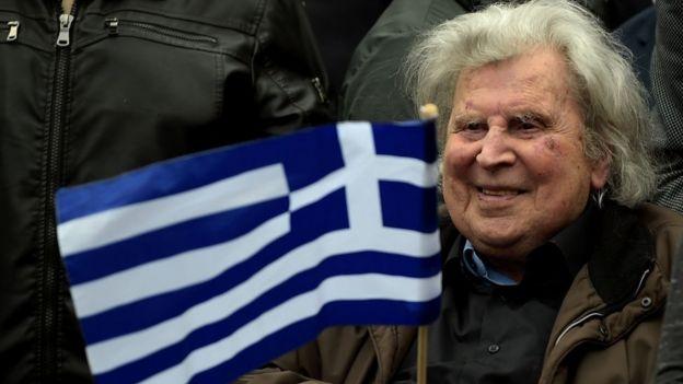 Mikis Theodorakis ülkenin en ünlü bestecilerinden biri