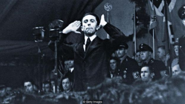 The 'illusion of truth' can be a dangerous weapon in the hands of a propagandist like Joseph Goebbels