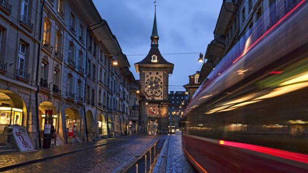 Thụy Sỹ nổi tiếng về sự đúng giờ và sạch sẽ