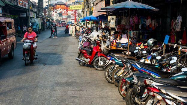 Street scene in Chaing Mai