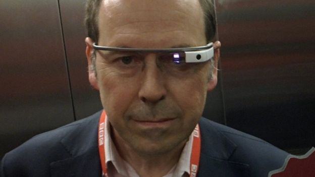 Rory Cellan-Jones in Google Glass