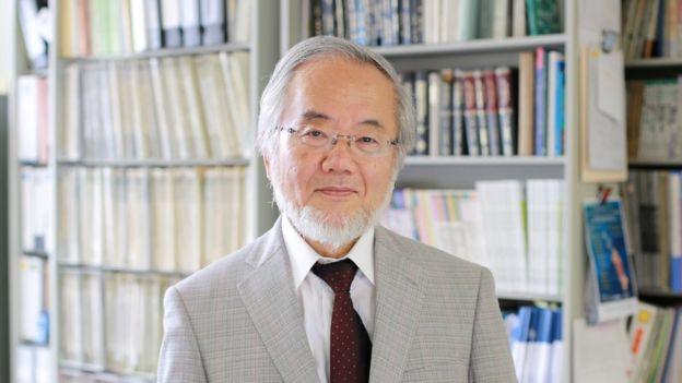 Yoshinori Ohsumi, científico japonés ganador del premio Nobel en 2016