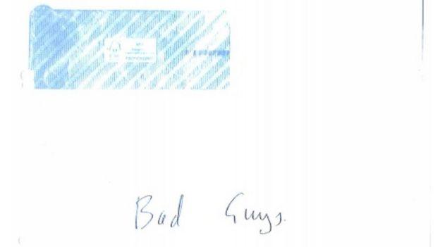 Bad Guys envelope