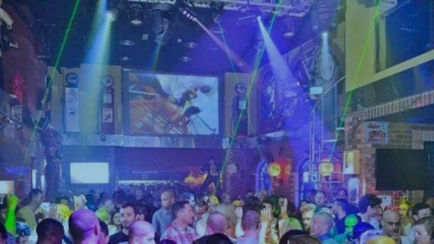 Rock Bottom Bar in Dubai