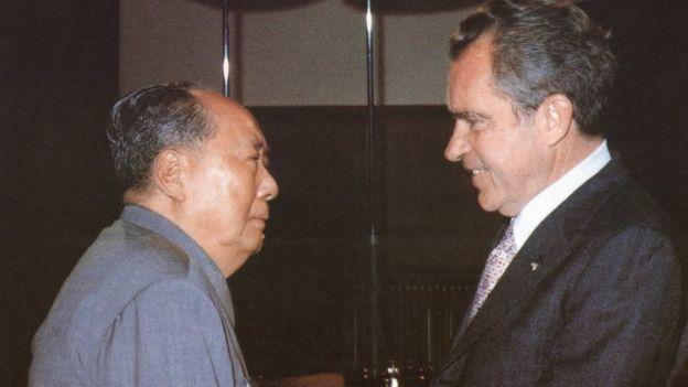 Mao y Nixon