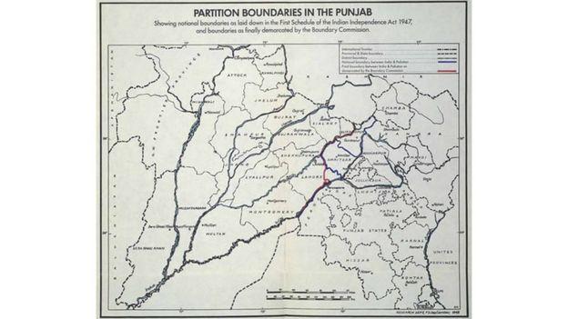 فیروز پور کا نقشہ