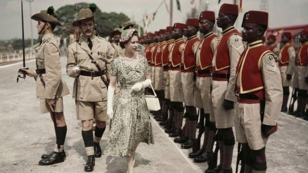 Visita de Isabel II a Nigeria en 1956