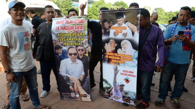 Pendukung Anwar Ibrahim