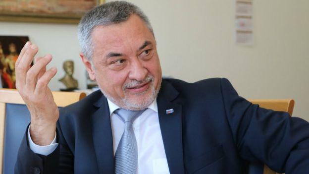 Вице-премьер Болгарии Валерий Симеонов