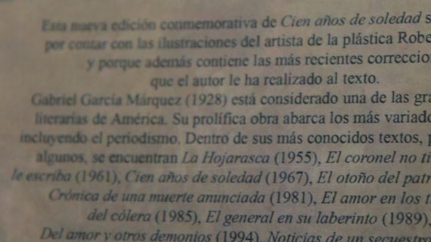 Contraportada de la edición cubana.