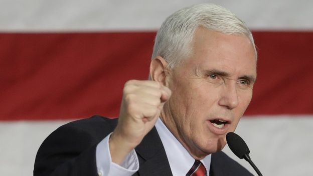 American Vice President Mike Pence.