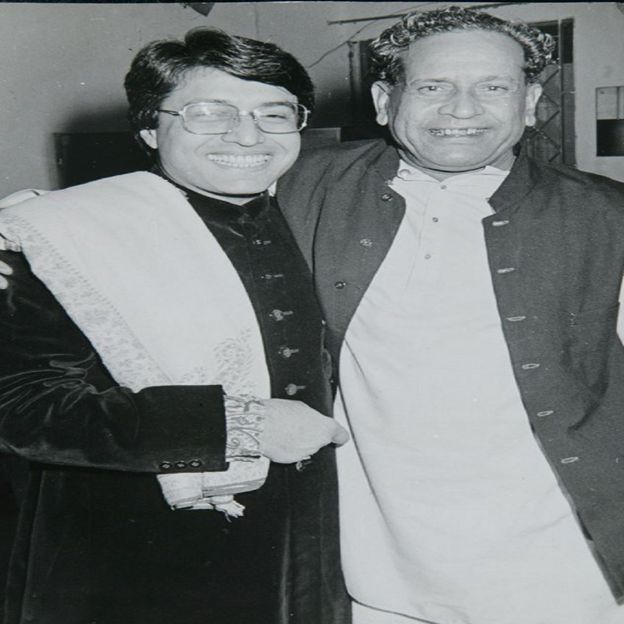 भीम सेन जोशी के साथ अमजद अली खान