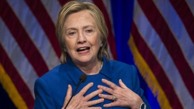 Hillary Clinton. 16 Novemba 2016