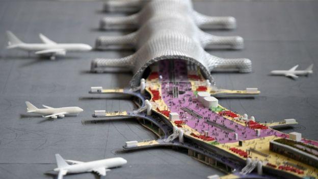 El nuevo aeropuerto de México será uno de los más grandes del mundo.