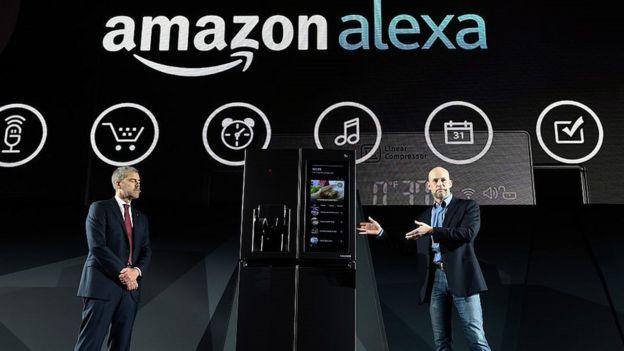 LG Alexa fridge