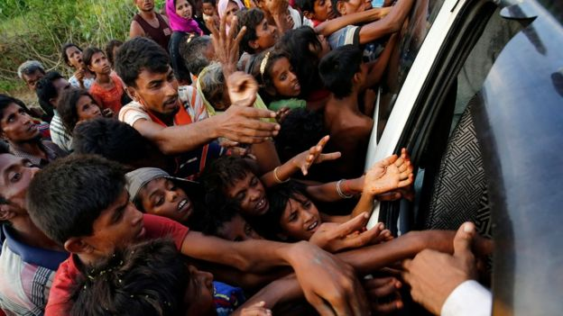 Risultati immagini per Rohingya refugees – in pictures
